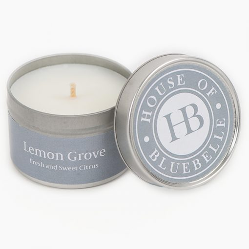 Tin Candles Lemon Grove