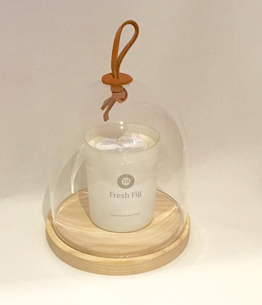 Large Cloche Jar Candle