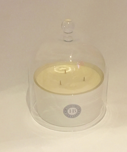 Small Cloche Three Wick Candle